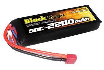 Аккумулятор Black Magic LiPo 11,1V 2200mAh (3S) 25C Soft Case (Deans plug)