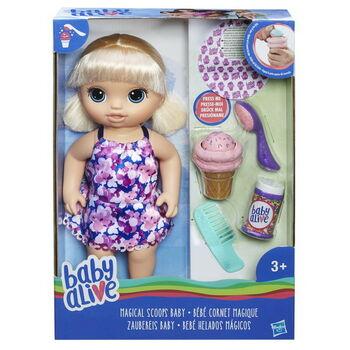 BABY ALIVE. Кукла Малышка с мороженым