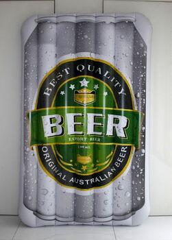 Матрац надувной в виде банки пива