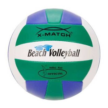Мяч волейбольный X-Match зеленый-синий-белый, 2 слоя ПВХ