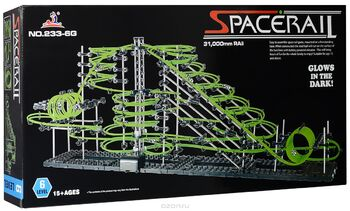 Конструктор Space Rail серия Glow In The Dark 6 уровень