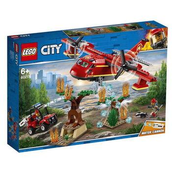 Конструктор LEGO CITY Fire Пожарный самолёт