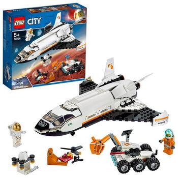 Конструктор LEGO City Space Port Шаттл для исследований Марса