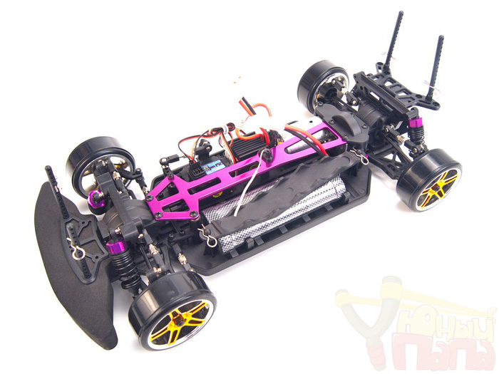 Радиоуправляемый автомобиль для дрифта HSP Flying Fish 1 - 1:10 4WD - 2.4G