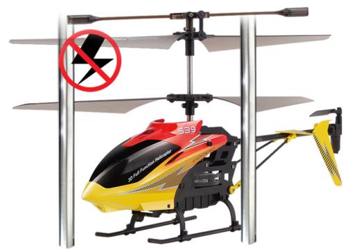 Радиоуправляемый вертолет SYMA S39 Raptor 2.4G (37 см)