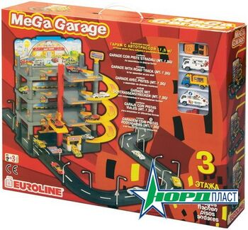 Гараж Mega Garage с дорогой 49х54х50 см