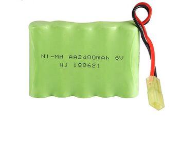 Аккумулятор Ni-Mh AA 6v 2400mah форма Flatpack разъем MINITAMIYA