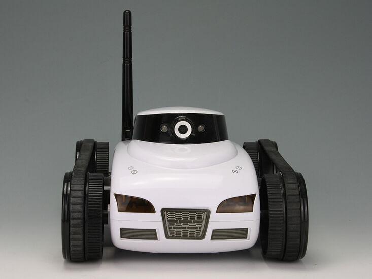 Танк I-Spy Tank FPV с видеокамерой и управлением через iPhone, iPad
