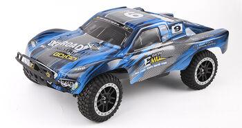 Радиоуправляемая модель REMO HOBBY 9EMU 1021 синий 4WD 2.4G 1:10