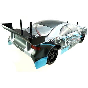 Радиоуправляемая машина HSP Flying Fish 1 - 1:10 (черный с синим)