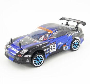 Радиоуправляемая машина HSP Flying Fish 2 4WD - 1:16 (черный с синим)