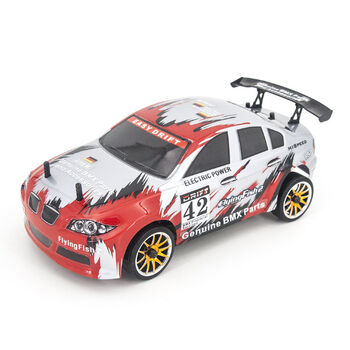 Радиоуправляемая машина для дрифта HSP FlyingFish2 BMW Drift Car 4WD 1:16 2.4G - 94163-16302