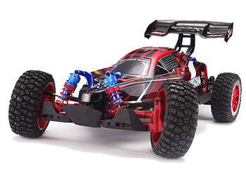Радиоуправляемая модель REMO HOBBY Scorpion 8055 Brushless 4WD 2.4G 1:8 с элементами тюнинга