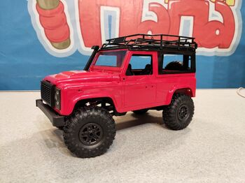 Радиоуправляемый краулер Land Rover Defender 90 1/12 4WD 2.4G красный