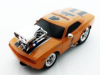 Радиоуправляемая машина MK8126B из серии Muscle Car с гоночным Мотором 1/16 свет и звук
