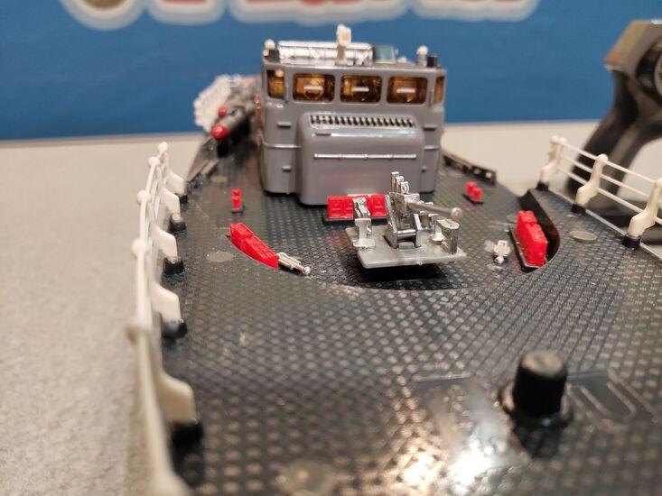Радиоуправляемый торпедный корабль HT-2877B 2.4G