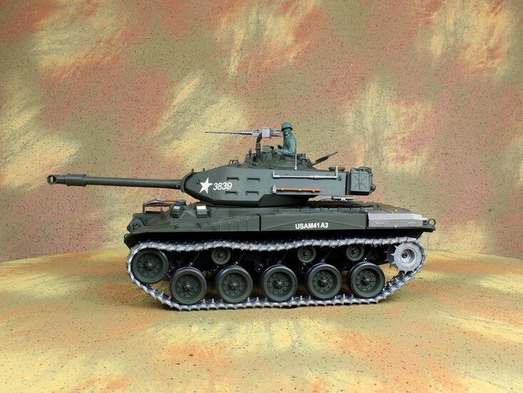 Радиоуправляемый танк Heng Long Bulldog Professional Version NICD 1:16 MHz