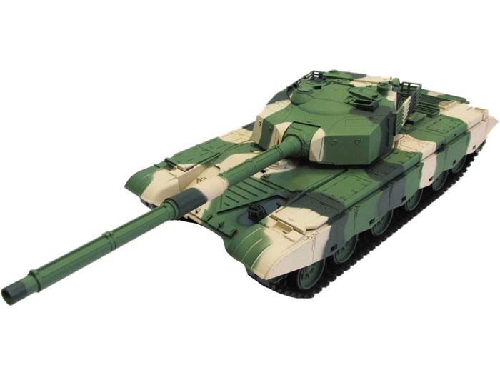 Радиоуправляемый танк Heng Long ZTZ 99 MBT Standard Version 1:16 с дымом и пульками