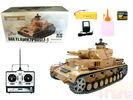 Радиоуправляемый танк Heng Long DAK Pz. Kpfw.IV Ausf. F-1 Professional Version 1:16