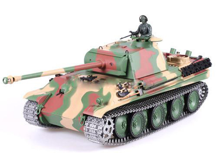Радиоуправляемый танк Heng Long Panter Type G PRO Professional Version 1:16