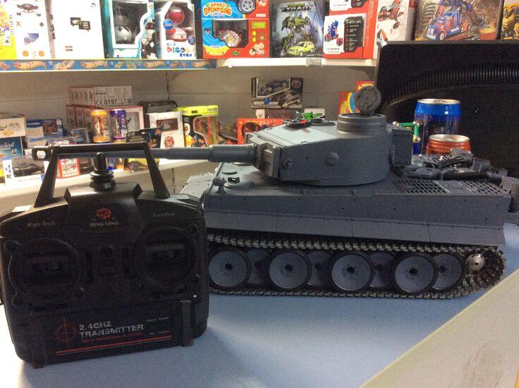 Радиоуправляемый танк Heng Long German Tiger Тигр PRO Professional Version Li-Ion 1:16 2.4GHz