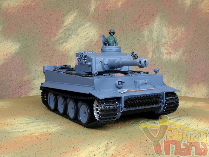 Радиоуправляемый танк Heng Long Tiger I Standard Version (3818-1) NICD 1:16 53 см
