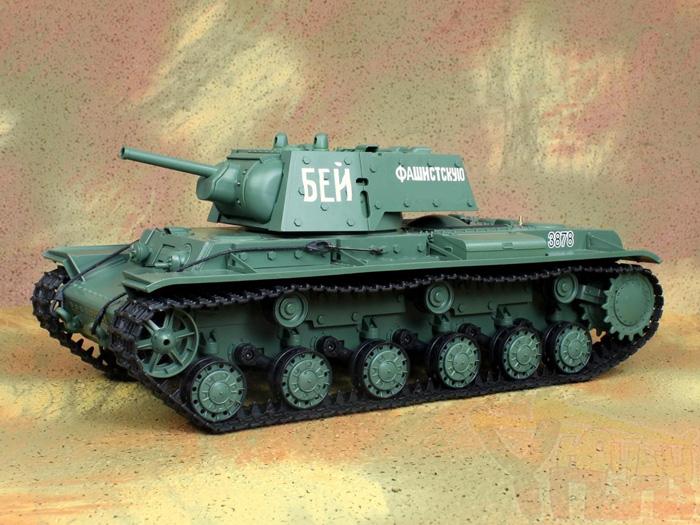 Радиоуправляемый танк Heng Long KV-1 Клим Ворошилов Standard Version 1:16