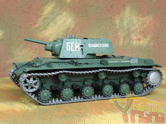Радиоуправляемый танк Heng Long Клим Ворошилов KV-1 PRO Professional Version масштаб 1:16 42.5 см