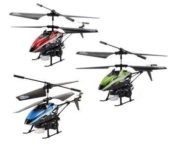 Игрушка вертолет на пульте управления WLToys V757 с мыльными пузырями